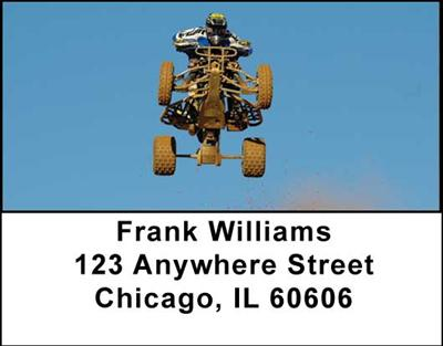ATV Dirt Racing Address Labels, Address Labels - 1