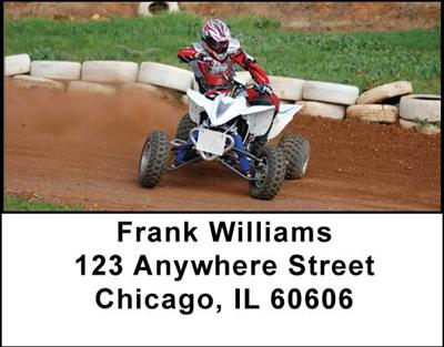 ATV Dirt Racing Address Labels, Address Labels - 3