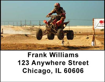 ATV Dirt Racing Address Labels, Address Labels - 4