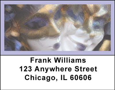 New Orleans Address Labels - 4