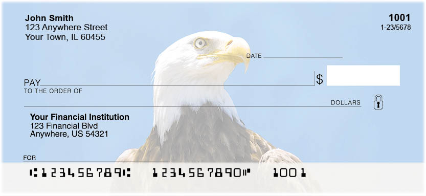 Bald Eagles Checks - 1