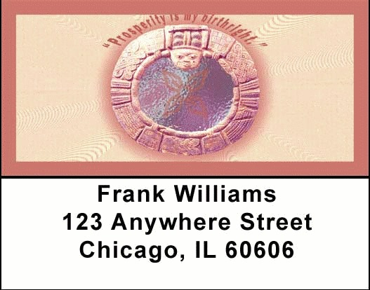 Prosperity Address Labels - 3