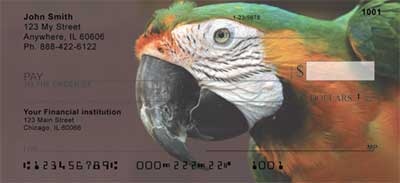 Macaw Parrots Checks - 2