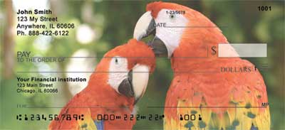 Macaw Parrots Checks - 4