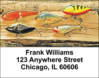 Angler's Ammo Address Labels - 1