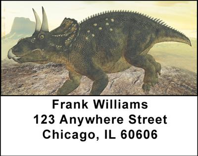 Dinosaurs Address Labels - 3