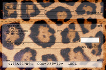 Animal Prints Top Stub Checks