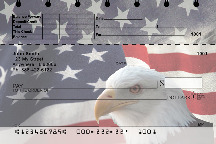 Soaring Over America Top Stub Checks