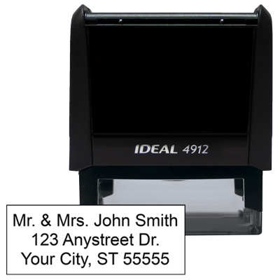 3 Line Address Stamp - 1