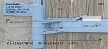 Metal Wood Stone Personal Checks