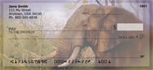 Elephants in the Wild Personal Checks