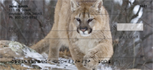 Cougar Personal Checks