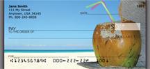 Beach Rum Drinks Personal Checks