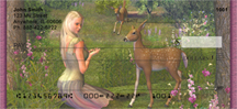 Deer Princess Personal Checks