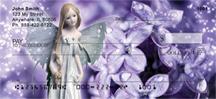 Spring Flower Fairies Personal Checks