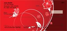 Floral Romance Personal Checks