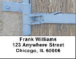Metal Wood Stone Address Labels