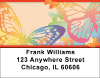 Butterfly Collector Address Labels