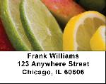 Freshly Cut Fruit Address Labels