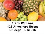 Tropical And Fruity Address Labels