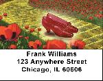 Yellow Brick Road Address Labels