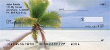 Palms On Beach Personal Checks