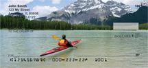 Mountain Lakes On Kayak Personal Checks