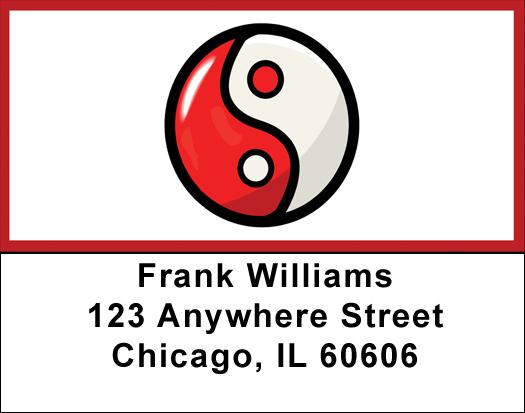 Yin-Yang Address Labels