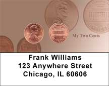 My Two Cents Address Labels