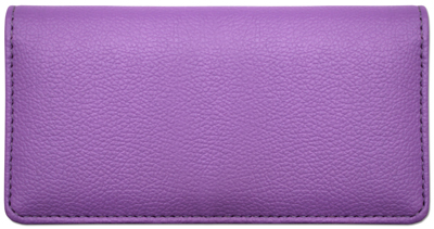 Violet Textured Leather Cover