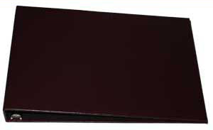 Burgundy Business 7 Ring Binder - 1