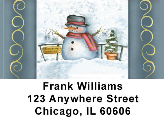 Snowflake Collector Address Labels - 1