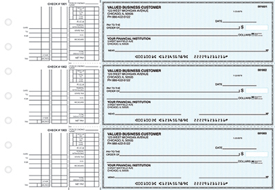 Teal Safety Multi Purpose Business Checks - 1