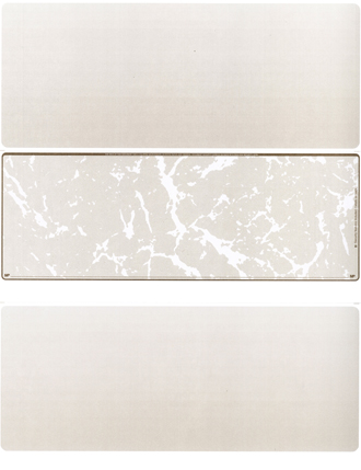 Tan Marble Blank Middle Laser Checks - 1