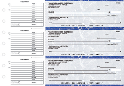 Blue Marble Accounts Payable Business Checks - 1
