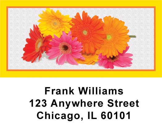 Daisies Address Labels - 1