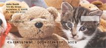 Kitten Cuddles Personal Checks