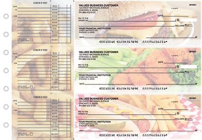 Hot Off The Grill Accounts Payable Business Checks - 1