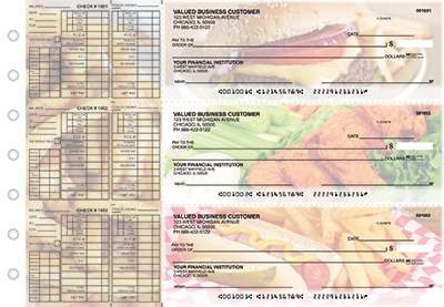 Hot Off The Grill Payroll Checks  - 1