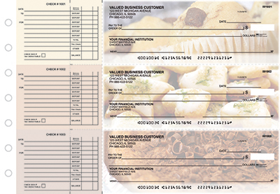 Delicious Delights Accounts Payable Business Checks - 1