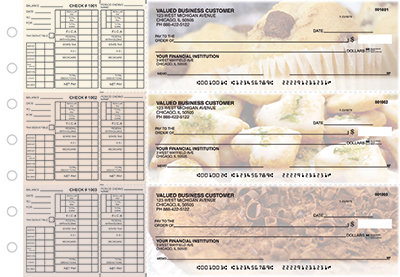 Delicious Delights Payroll Business Checks  - 1
