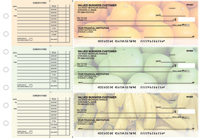 Juicy Fruit Accounts Payable Designer Business Checks - 1