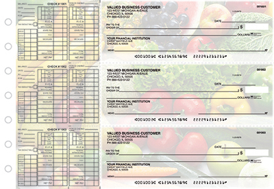 Organic Harvest Payroll Business Checks  - 1