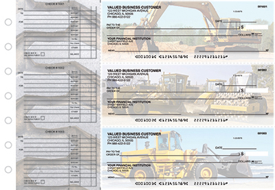 Heavy Lifting Accounts Payable Business Checks - 1
