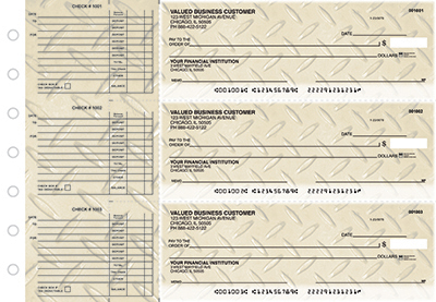 Diamond Plate Accounts Payable Business Checks - 1