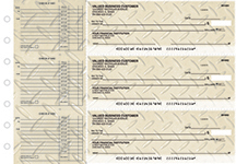 Diamond Plate Accounts Payable Business Checks