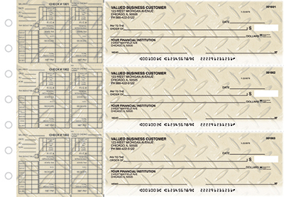 Diamond Plate Payroll Business Checks  - 1