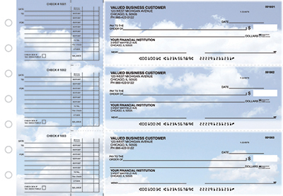 Looking Up Accounts Payable Designer Business Checks - 1