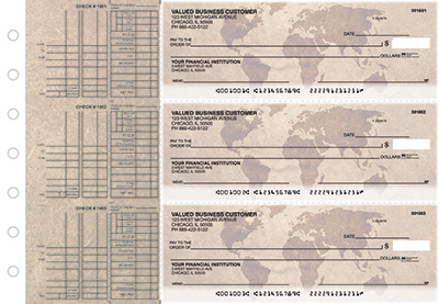 Global Markets Multi Purpose Business Checks  - 1