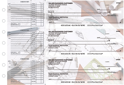 Architectural Precision Accounts Payable Business Checks - 1